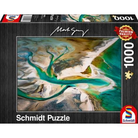 Schmidt 59921 Puzzle 1000St Mark Gray - Fusion
