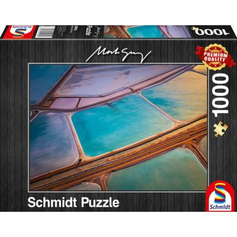 Schmidt 59924 Παζλ 1000St Mark Gray - Pastels
