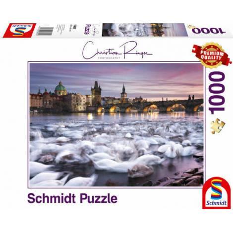 Schmidt - Κύκνοι στην Πράγα 2D (59695) 1000 pcs