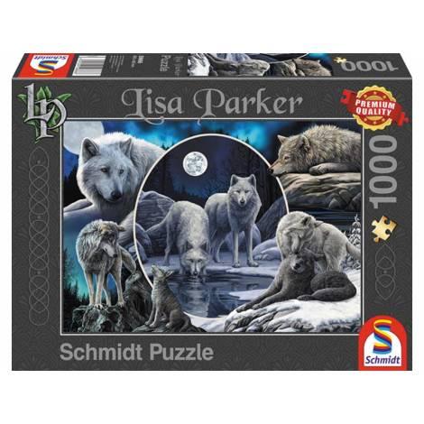 Schmidt Lisa Parker - Μεγαλοπρεπείς Λύκοι (59666) 1000pcs