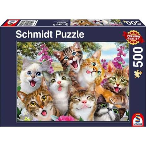Schmidt Spiele Cat Selfie 500pcs (58391)