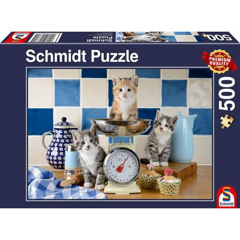 Schmidt Spiele Cats in the Kitchen 500pcs (58370)