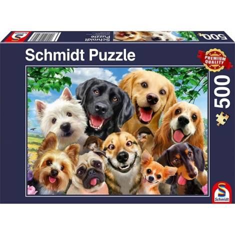 Schmidt Spiele Dog Selfie 500pcs (58390)
