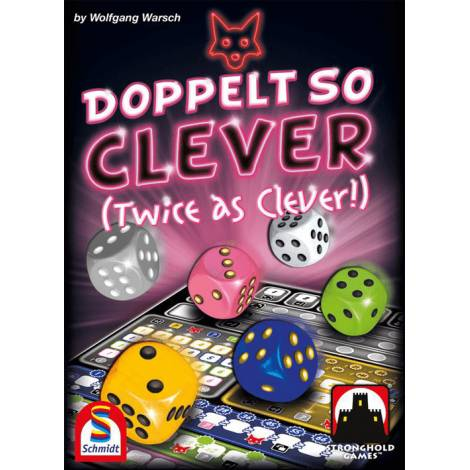 Schmidt Spiele Doppelt so Clever( Twice as Clever) (SMD88234)