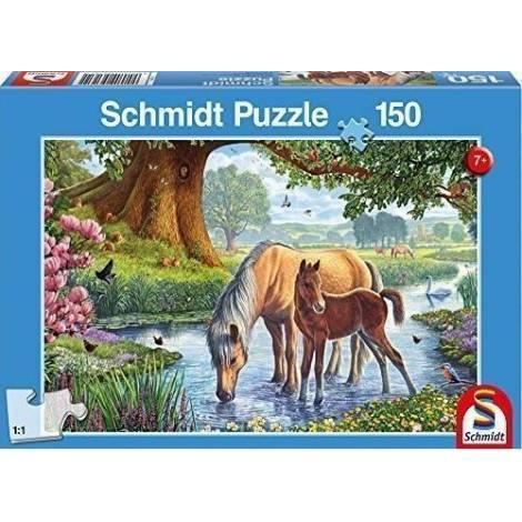 Schmidt Spiele Φοράδα με Πουλάρι 150pcs (56161)