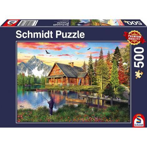 Schmidt Spiele Lake fishing 500pcs (58371)