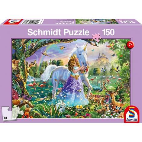 Schmidt Spiele Princess with Unicorn and Lock 150pcs (56307)