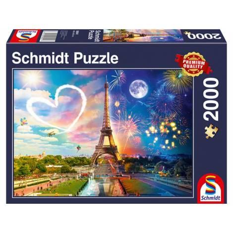 Schmidt  Standard - Παρίσι, Μέρα και Νύχτα (58941) 2000pcs