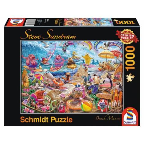 Schmidt Steve Sundram - Beach Mania (59662) 1000pcs