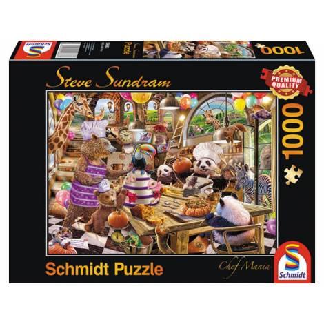 Schmidt Steve Sundram - Chef Mania (59663) 1000pcs