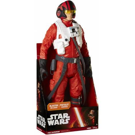 SD TOYS STAR WARS - THE FORCE AWAKENS POE DAMERON LARGE ACTION FIGURE (45cm)