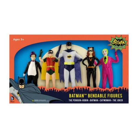 Σετ με Επετειακές Φιγούρες Batman (5 σχέδια) (NJ003920)