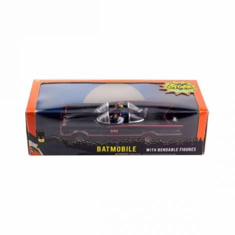 Σετ με Επετειακές Φιγούρες Batman-Robin & Batmobile (NJ003930)