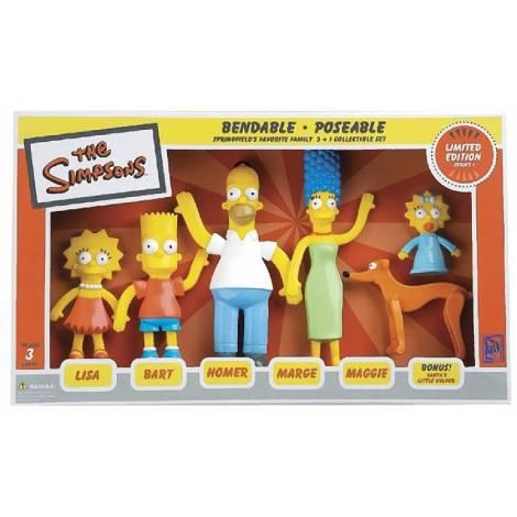 Σετ με Φιγούρες Simpsons Family (6 σχέδια)  (NJ000301)