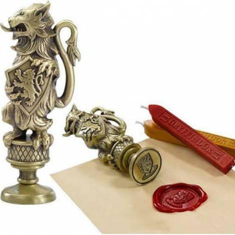 Σφραγίδα και βουλοκέρι Gryffindor (Harry Potter) - Noble Collection (NN7087)
