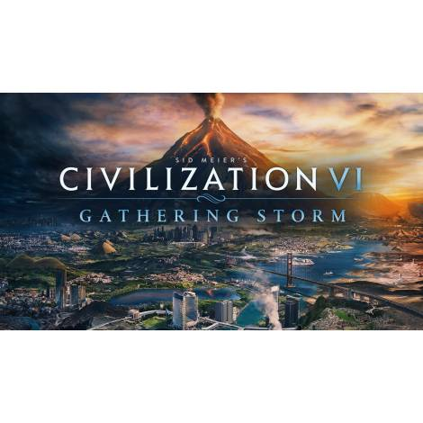 Sid Meier's Civilization VI : Gathering Storm DLC (PC) CD KEY ONLY
