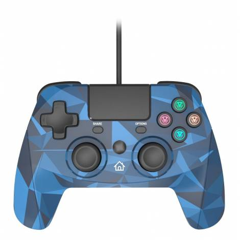 SNAKEBYTE (SB912399) GAMEPAD 4S (CAMO BLUE) PS4 WIRED CONTROLLER