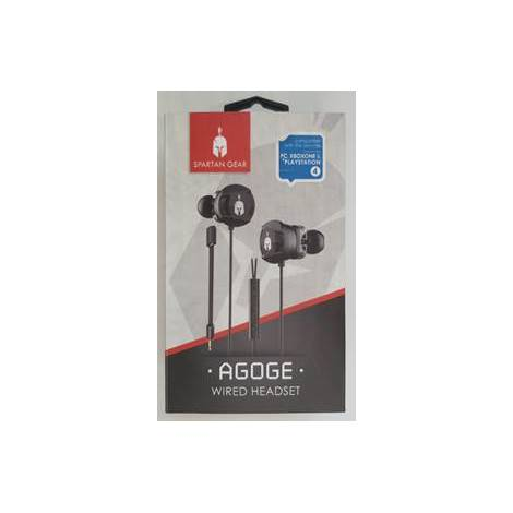 Spartan Gear Agoge Dual Driver Wired Headset (Compatible with: PC, PS4, XBOX1, Tablet, Mobile)