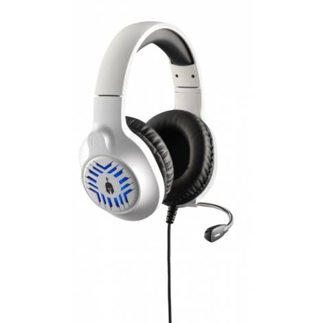 Spartan Gear: Medusa Wired Headset (white/black) (compatible with PC / PS4 / PS5 / Xbox One/Series X|S / Nintendo Switch) (69485)