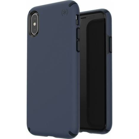 SPECK IPHONE XS/X CASE (119395-6587) PRESIDIO PRO (BLUE/ BLACK)