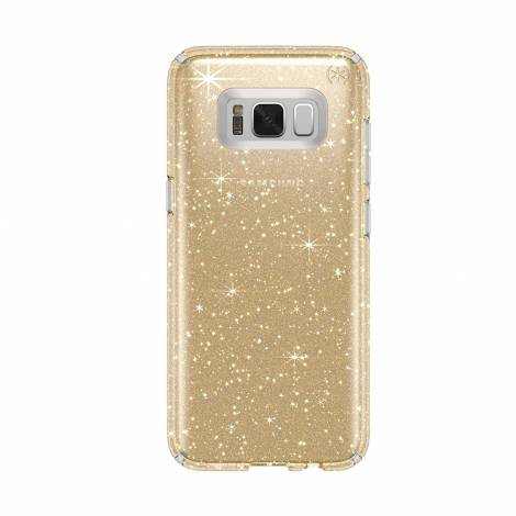 Speck Presidio Clear & Glitter Case For Samsung Galaxy S8 (90255-5636)