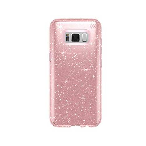 Speck Presidio CLEAR+GLITTER Pink Case For GALAXY S8 (90255-5978)  (ΕΚΘΕΣΙΑΚΟ ΚΟΜΜΑΤΙ,ΚΑΙΝΟΥΡΓΙΟ)