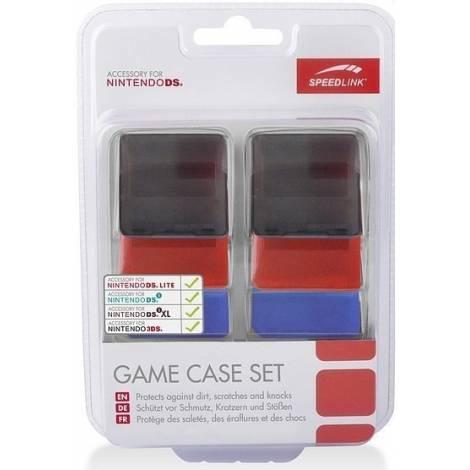 Speedlink SL-5305-MTCL-01 Game Case Set - For N3DS XL/N3DS/NDSI XL/NDSI, MULTI-COLOR
