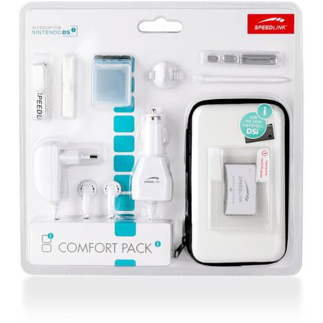 SPEEDLINK SL-5558-SLB COMFORT PACK FOR NDSI,14IN1, LIGHT BLUE