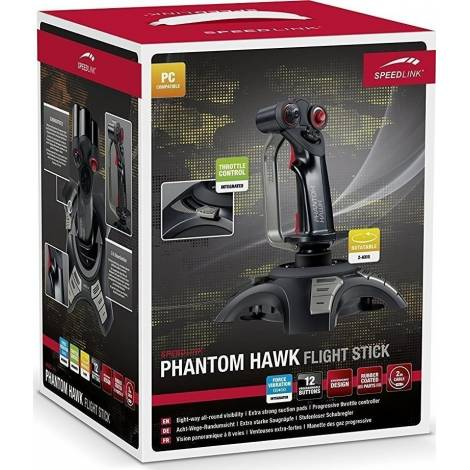 SPEEDLINK SL-6638-BK , PHANTOM HAWK FLIGHTSTICK, BLACK