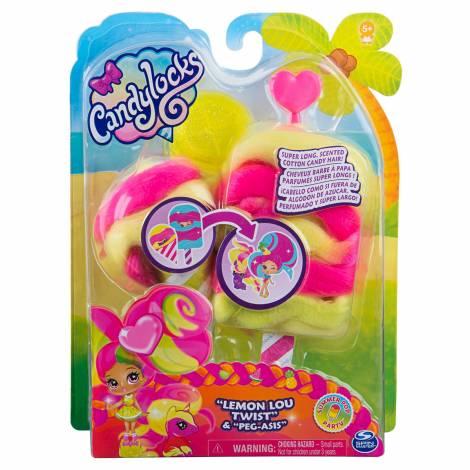 Spin Master Candylocks - Lemon Lou Twist & Peg - Asis (20123503)
