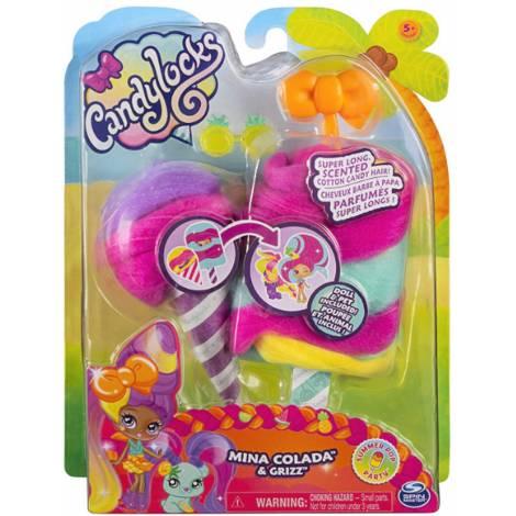 Spin Master Candylocks - Mina Colada & Grizz (20123505)