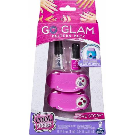 Spin Master Cool Maker: Go Glam Pattern Pack Nail Stamper - Love Story (20117220)