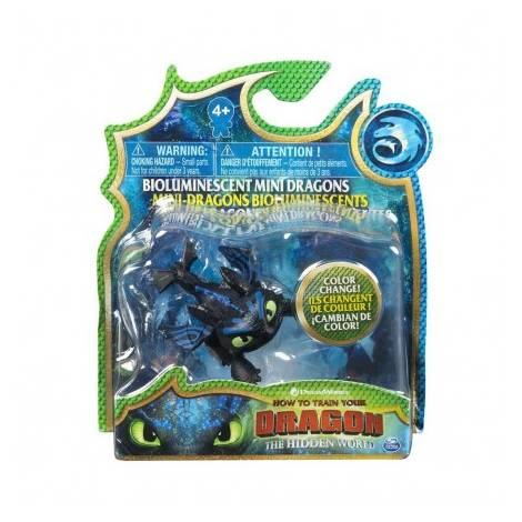 Spin Master - How to Train Your Dragon Mini Dragons Figures - White Dragon Color Change (20104712)