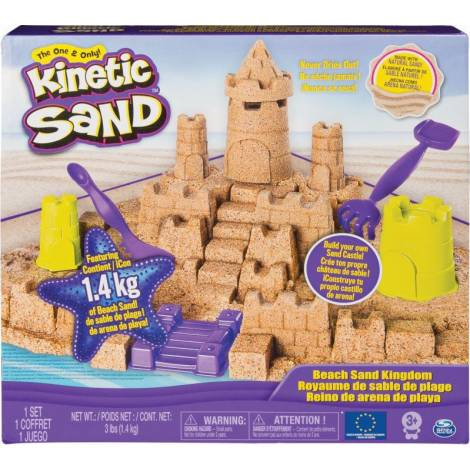 Spin Master Kinetic Sand - Beach Castle Kingdom (6044143)