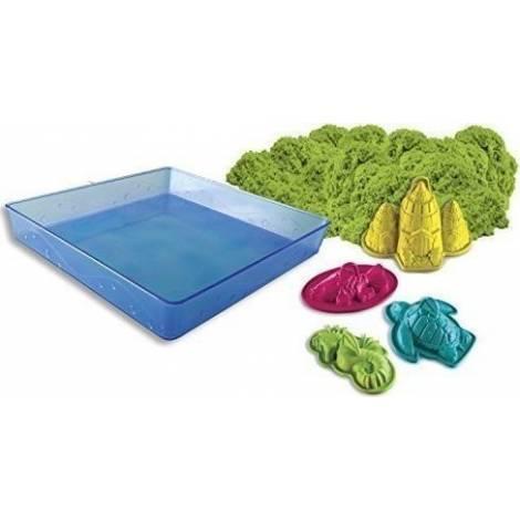 Spin Master Kinetic Sand - Green Sandbox Set (20106637)