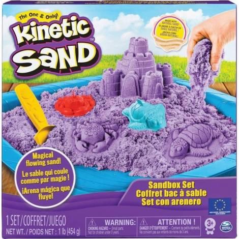 Spin Master Kinetic Sand - Purple Sandbox Set (20106638)