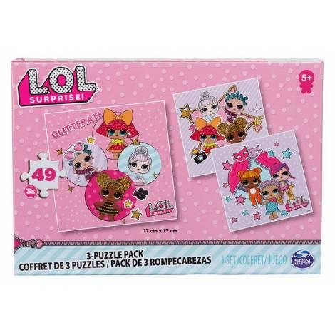 Spin Master L.O.L. Surprise!: Glitterati - 3-Puzzle Pack (49 pcs x3) (20114662)