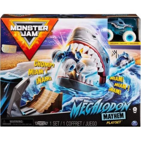 Spin Master Monster Jam - Megalodon Mayhem Stunt Playset (1:64) (20120790)