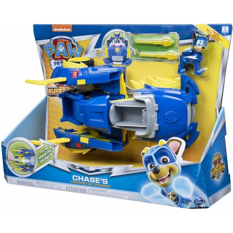 Spin Master Paw Patrol Mighty Pups Super Paws - Chase's Powered Up Cruiser (20115057)