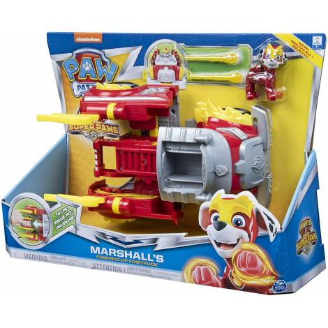 Spin Master Paw Patrol Mighty Pups Super Paws - Marshall's Powered Up Firetruck (20115056)