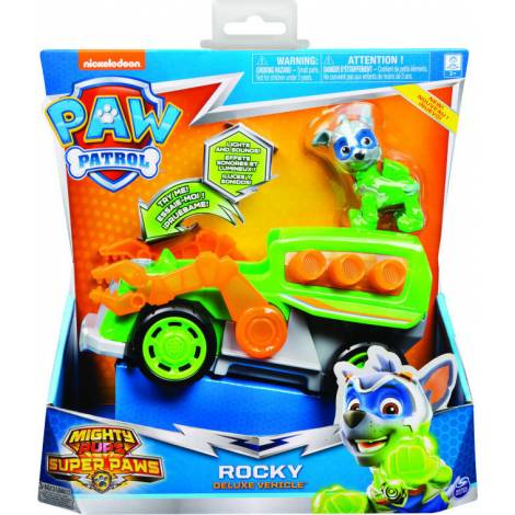 Spin Master Paw Patrol:  Mighty Pups Super Paws - Rocky Deluxe Vehicle (20115479)