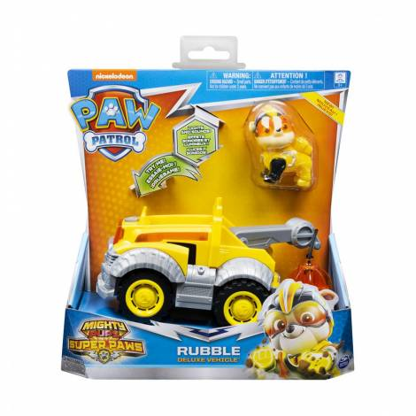 Spin Master Paw Patrol: Mighty Pups Super Paws - Rubble Deluxe Vehicle (20115477)