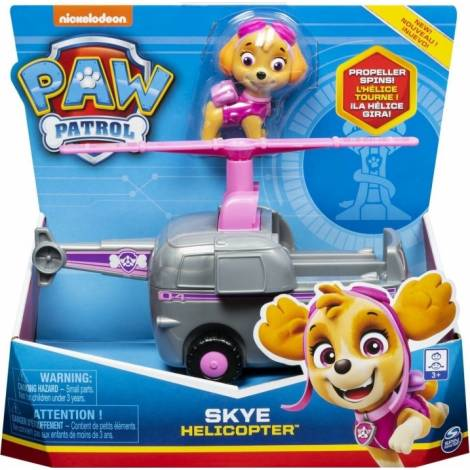 Spin Master Paw Patrol - Skye Helicopter Vehicle with Pup (20114324)