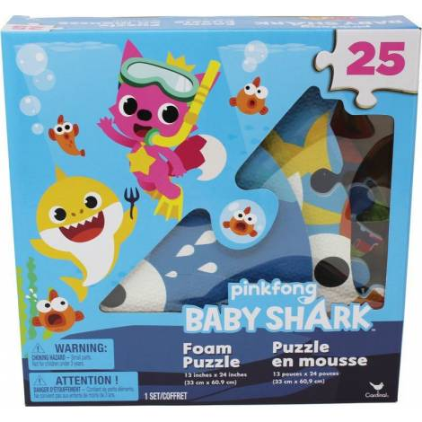 Spin Master Pinkfong Baby Shark - Foam Puzzle 25 pcs (6054917)