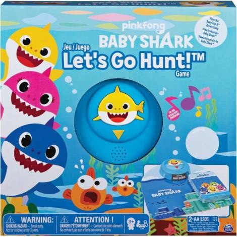 Spin Master: Pinkfong Baby Shark - Lets go Hunt! Game (6054959)