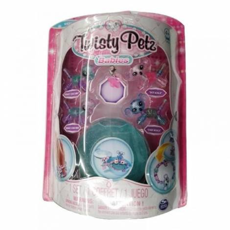 Spin Master Twisty Petz Babies Four Pack - Pinky Unicorn, Dot Koala, Binky Unicorn & Dash Koala (20104379)