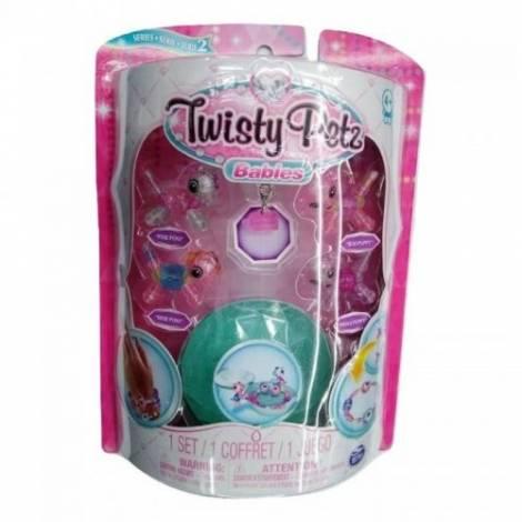 Spin Master Twisty Petz Babies Four Pack - Pixie Pony, Dixie Pony, Boo Puppy & Peeka Puppy (20104381)