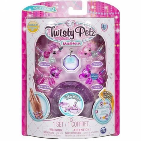 Spin Master Twisty Petz Babies Four Pack - Sunny Unicorn, Zag Koala, Hunny Unicorn & Zig Koala (20104382)