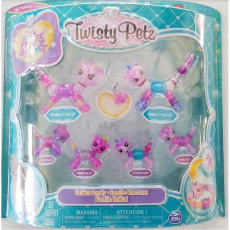 Spin Master Twisty Petz: Family 6 Pack - UniCat Family (20116331)