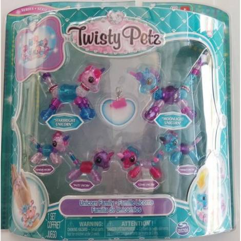 Spin Master Twisty Petz: Family 6 Pack - Unicorn Family (20116329)